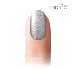 Indigo Gel Polish 130 Silver Cha Cha