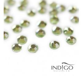 Indigo Strass - Light Peridot SS10