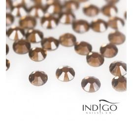 Indigo Rhinestones - Smoked Topaze SS5