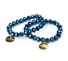 Bracelets indigo - Blue Devil