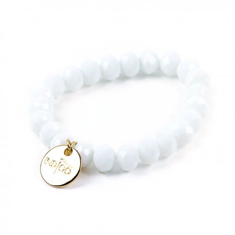 Bracelets indigo - White