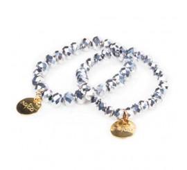 Bracelets indigo - holo Manix