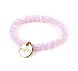 Bracelets indigo - Rose Pearl
