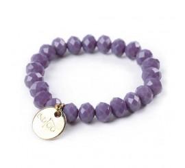 Bracelets indigo - Dark Plum