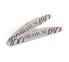 Disposable Nail File Moon 100/180 (50 pcs)